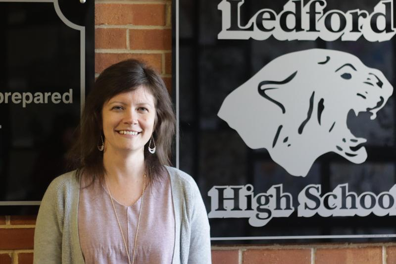 Megan Tetter - Teacher of the Year