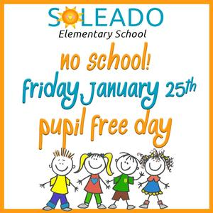 pupil free day clipart