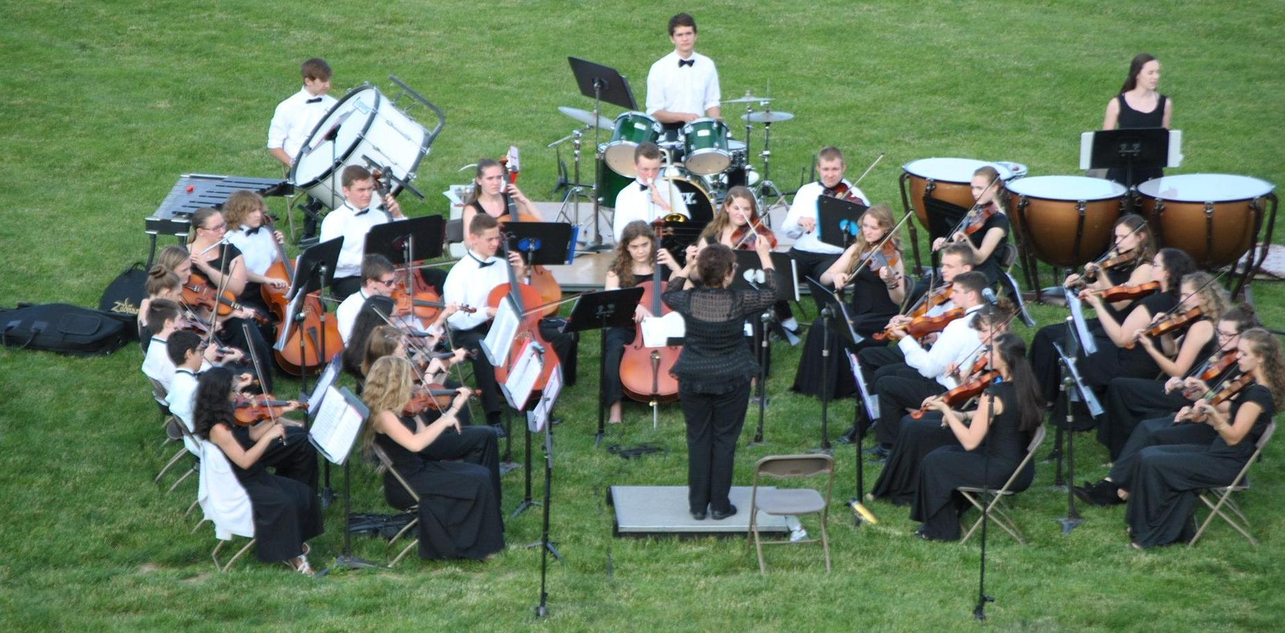 KHS Orchestra at Graduation
