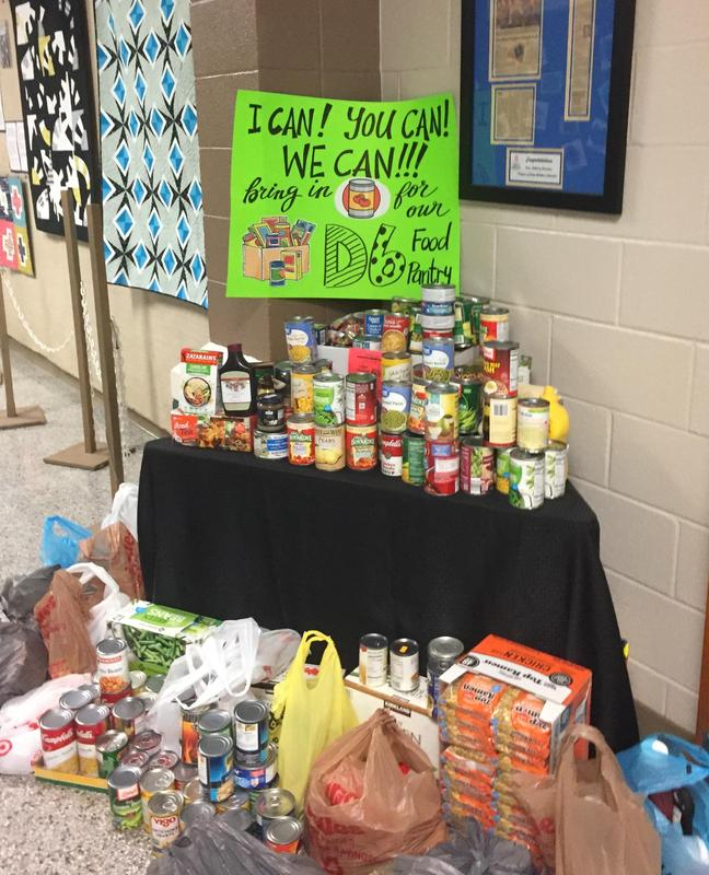 Canned Food Bank