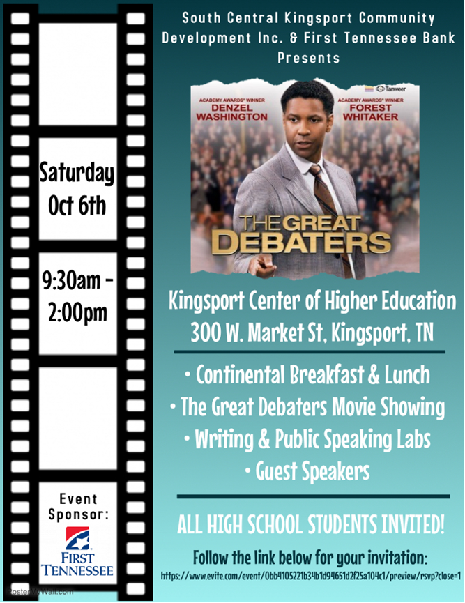 Great Debaters October 6