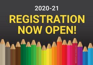 2020-21 Registration Now Open!