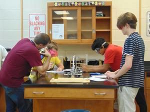 Snapshot of Mr. Poore's AP Chemistry class