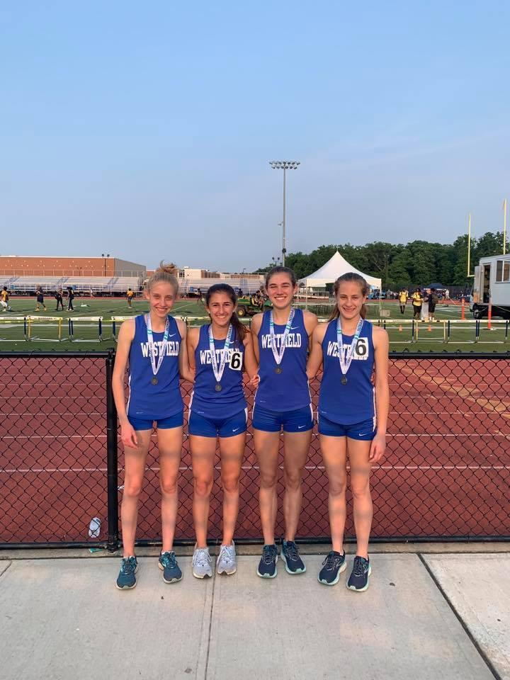 GIrls 4x800 Relay - 2nd Place NJSIAA Group Championships