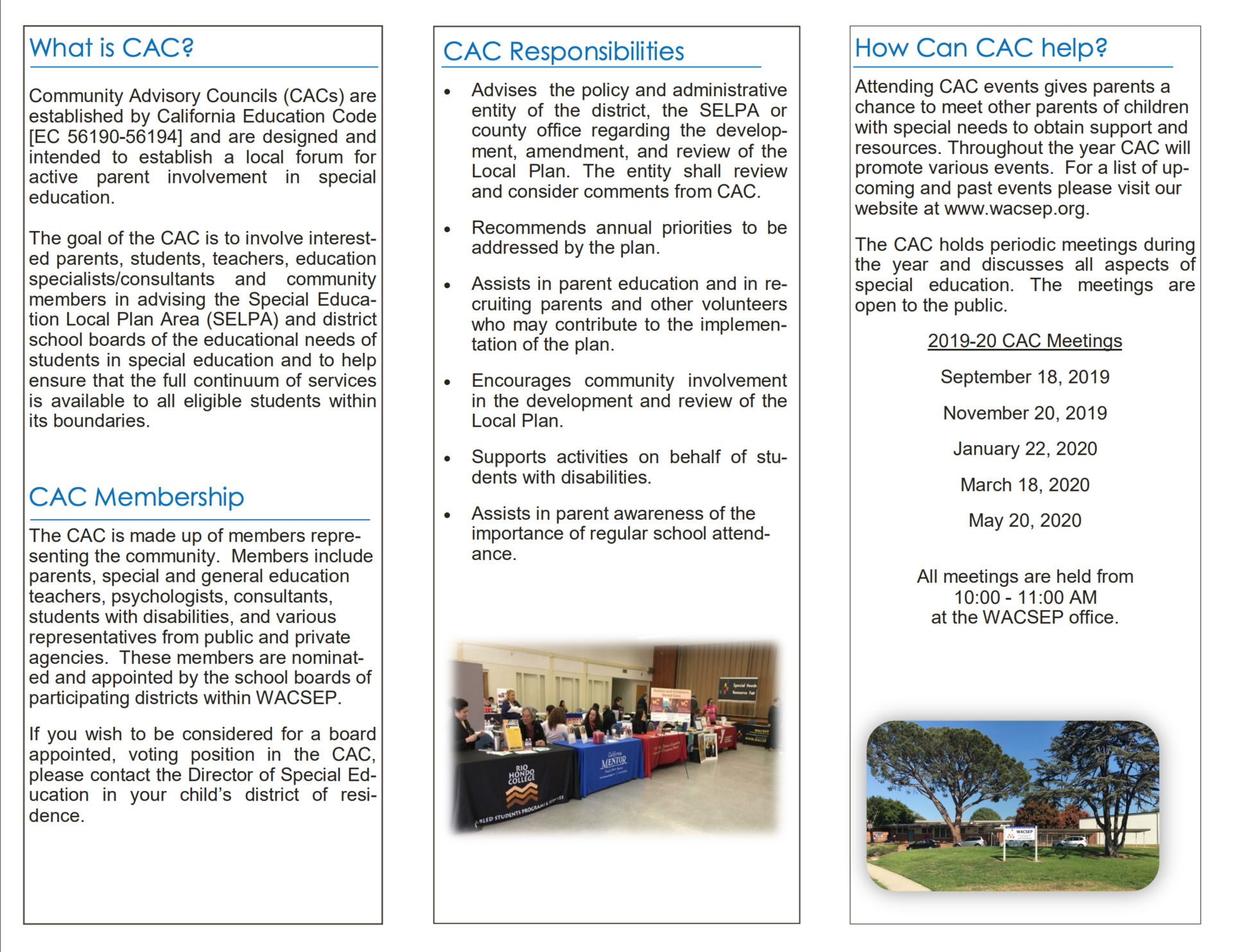 19-20 CAC Brochures Eng