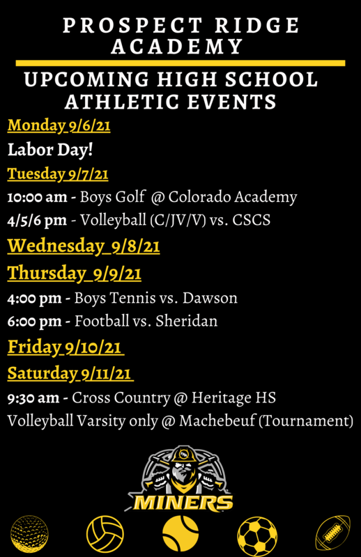 9/7 Athletic events