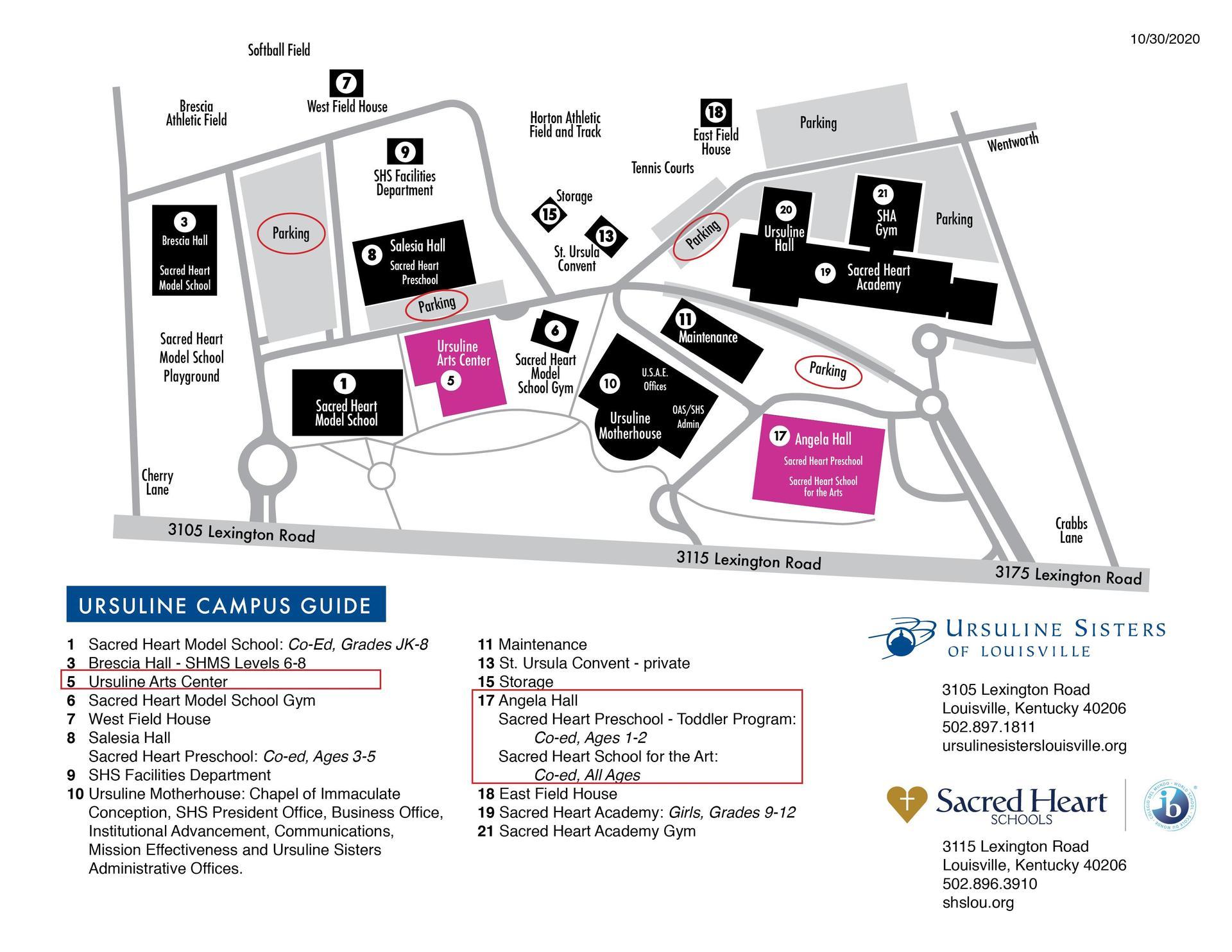 SHSA-Campus-map