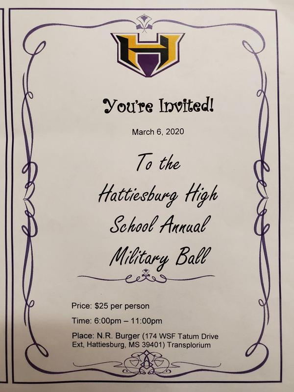 Join us for the HHS Annual Military Ball! Featured Photo