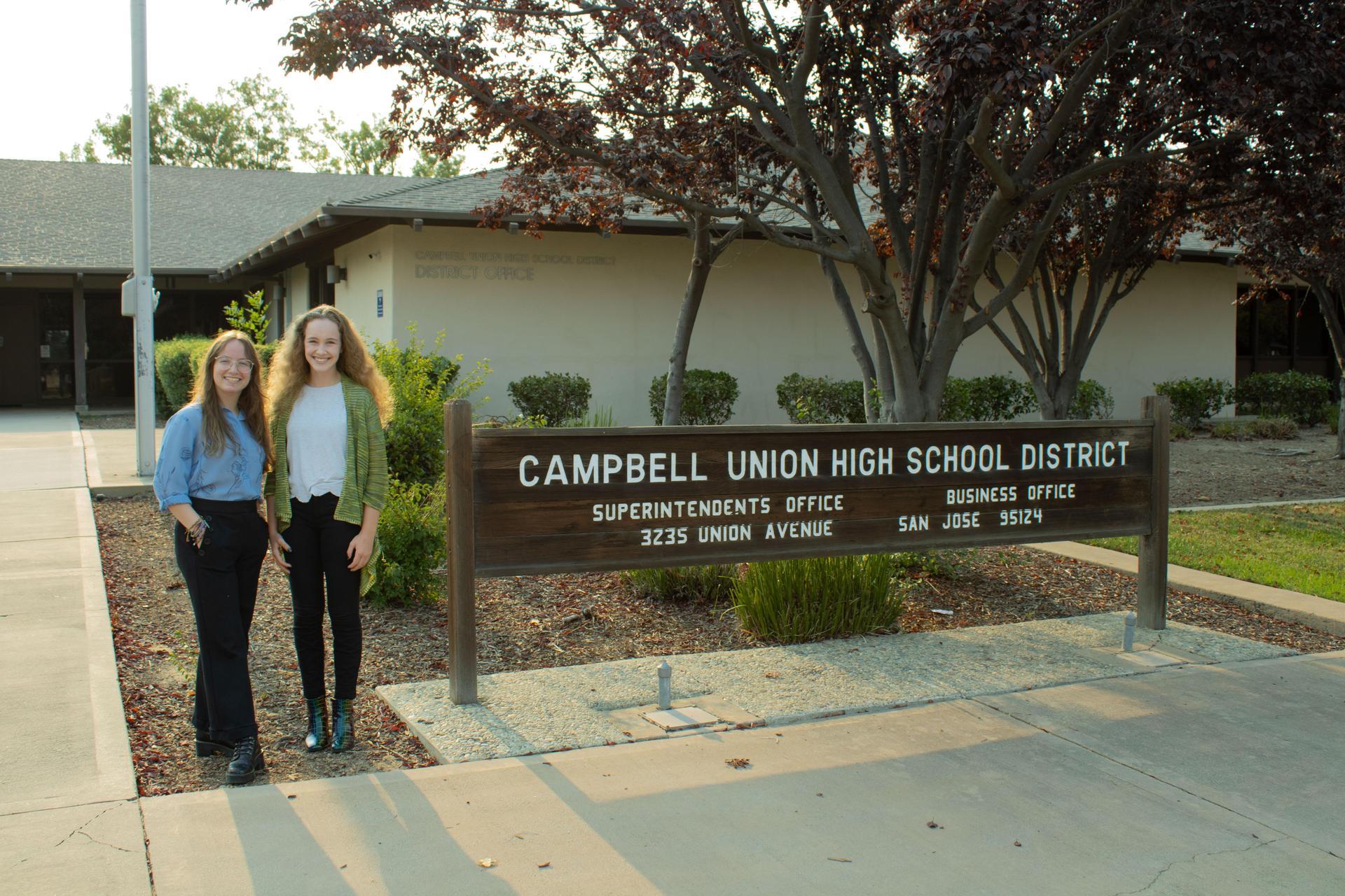 Alison Lubiens and Ainsley Bateman, Student Board Representatives