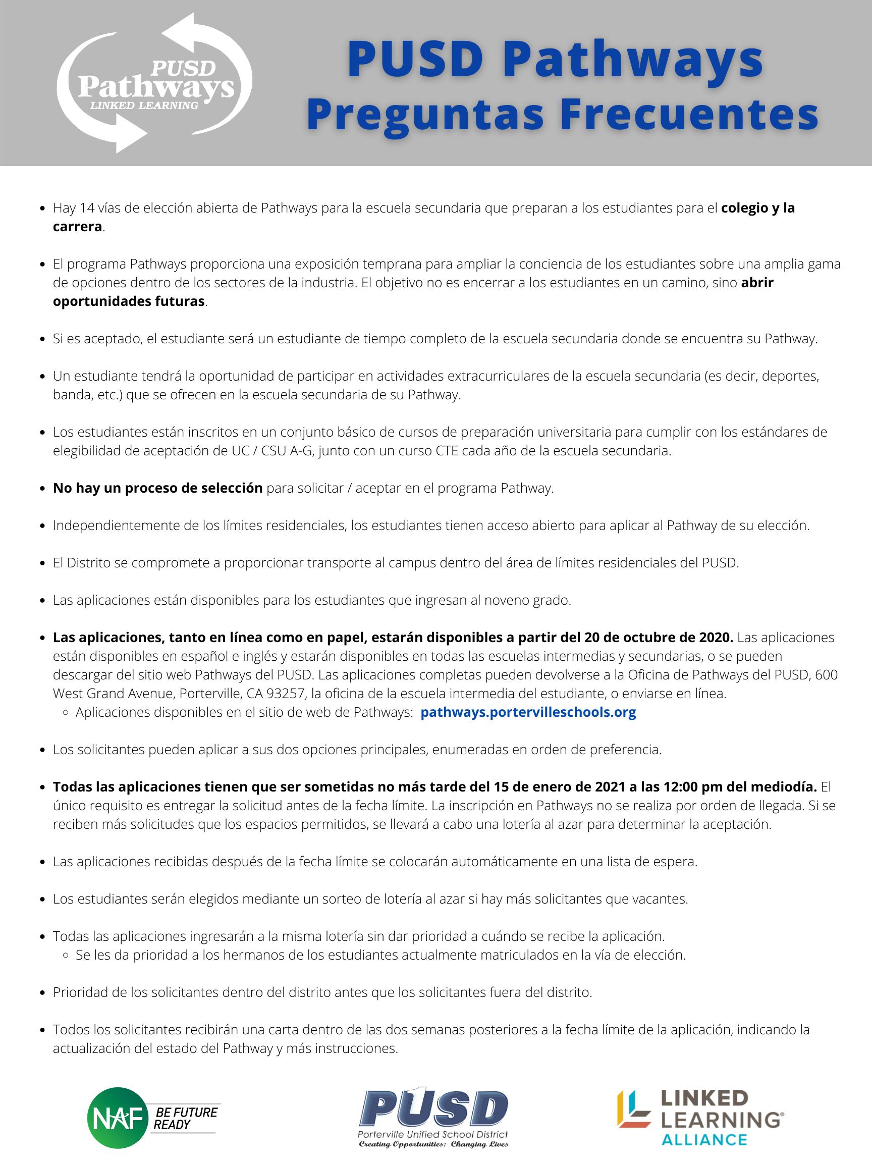 FAQ Spanish