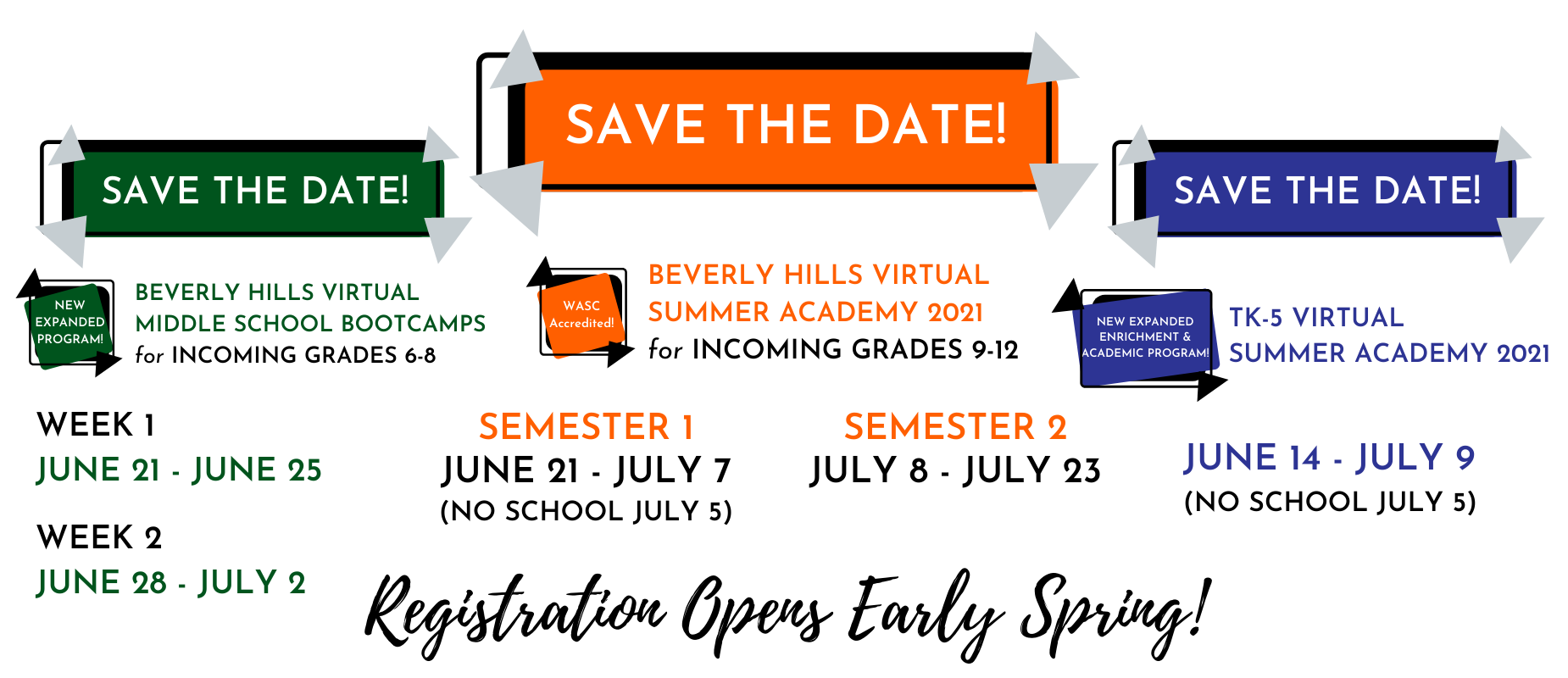 Summer Academy Save the Date