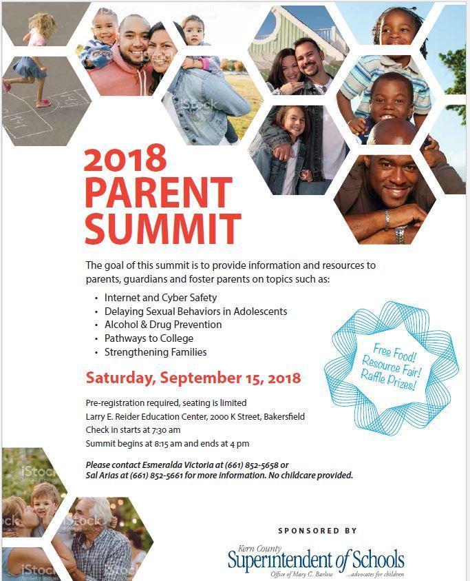 2018 Parent Summit