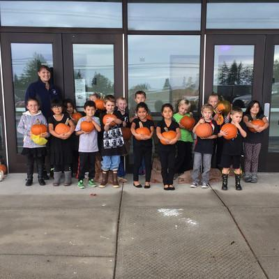 Class Pumpkin Patch Day
