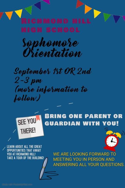 Sophomore Orientation