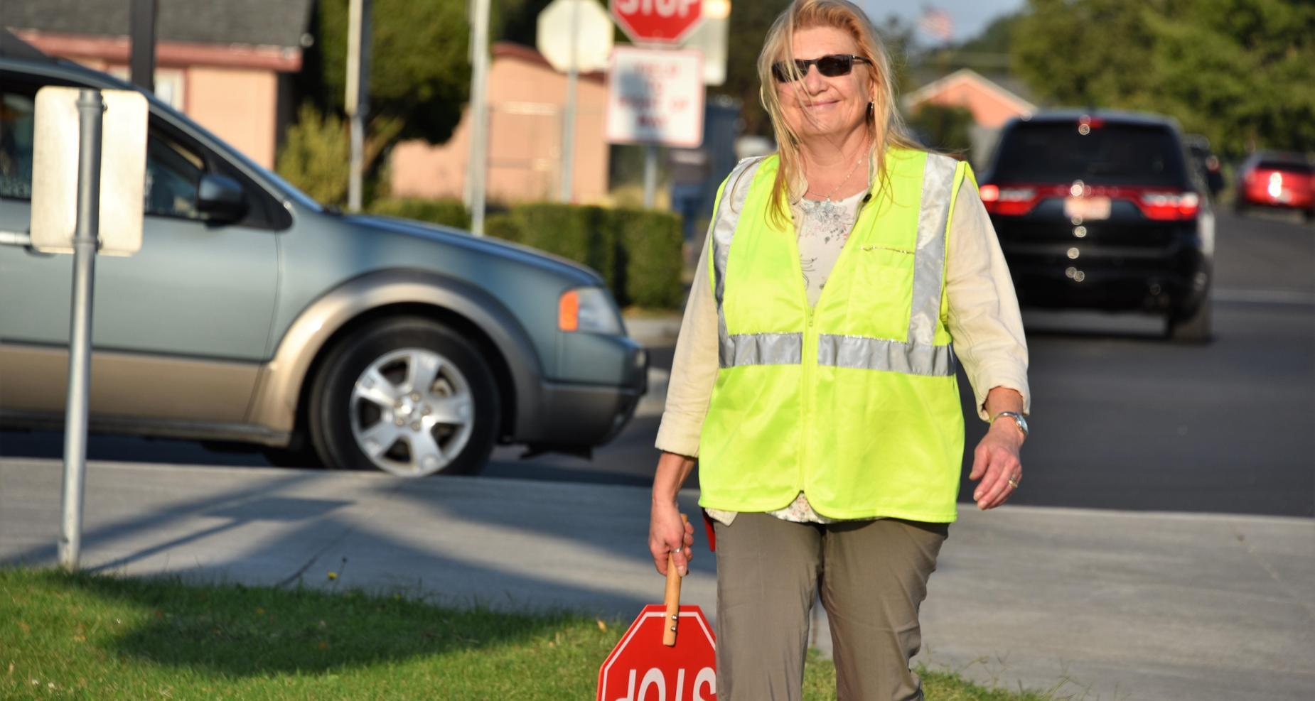 Crosswalk duty