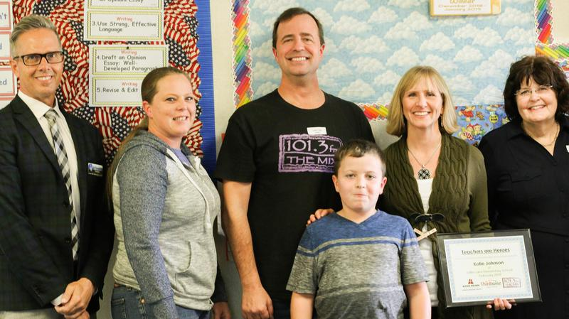 Faculty Focus Friday is Little Lake Elementary School teacher Katie Johnson.