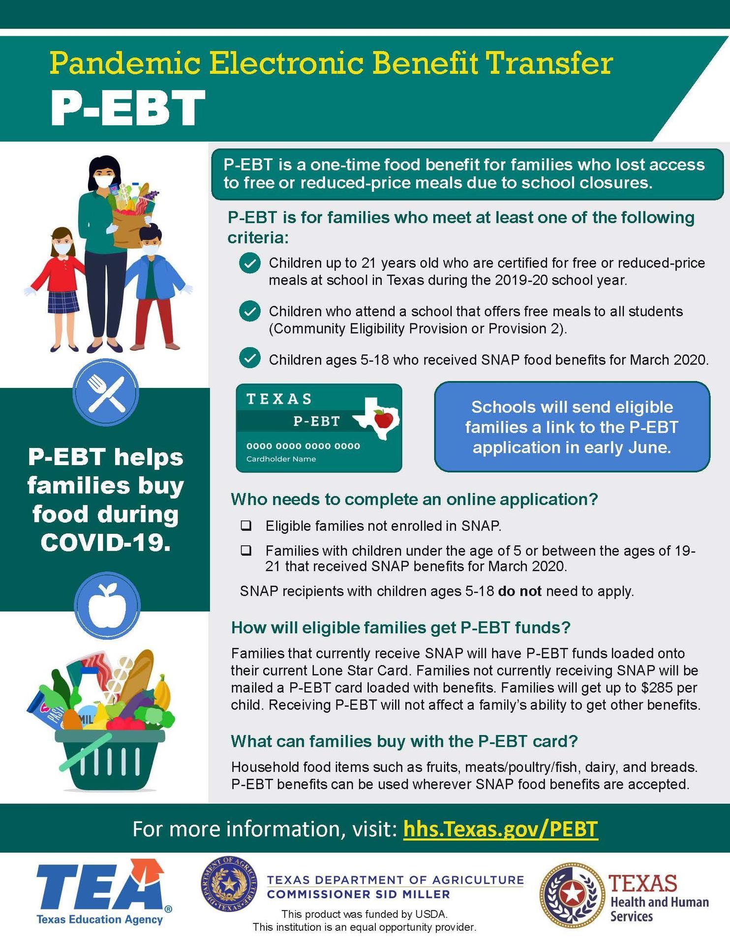 P-EBT Flyer