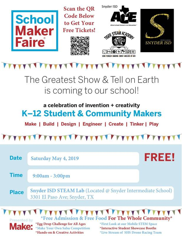 SISD MAKER FAIRE Featured Photo