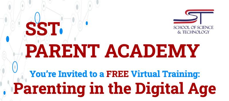 SST Parent Academy Flyer Screenshot