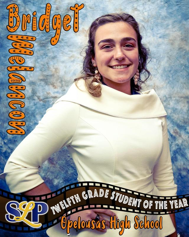 slp student of the year - Bridget Melancon