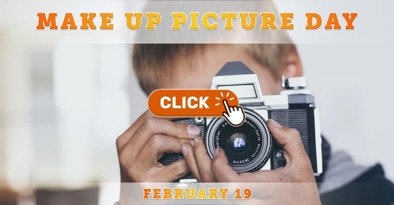 Make Up Picture Day Info: February 19, 2021