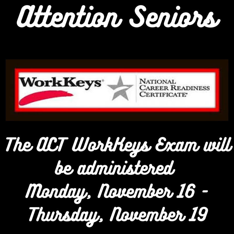 act workkeys exam information