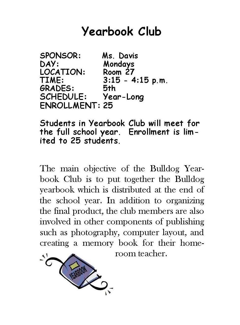 Yearbook Club
