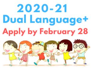 2020-21 Dual Language+ Program