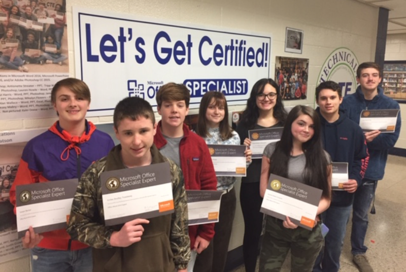 Cheraw High student earn certifications in Word Featured Photo