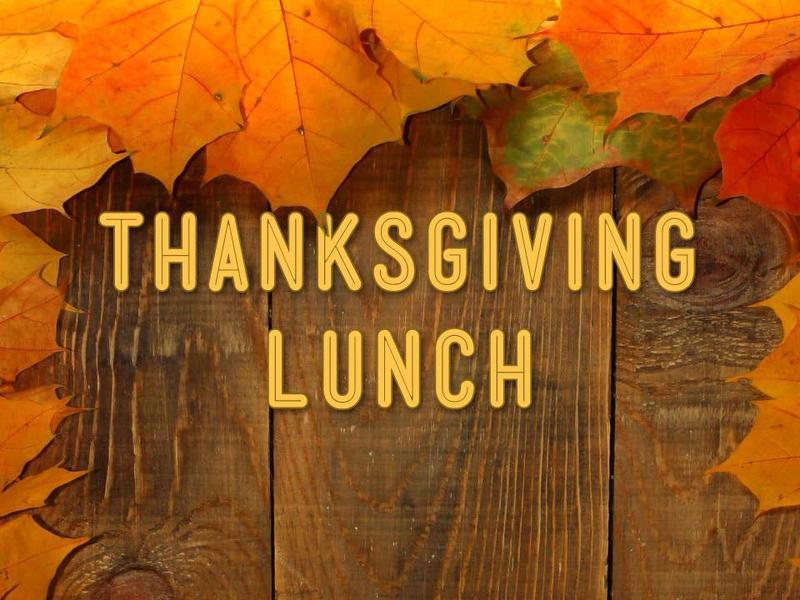 Thanksgiving Luncheon