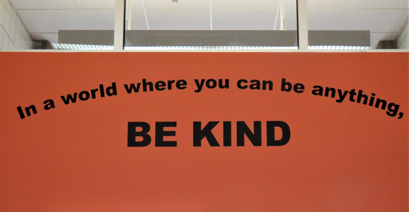 Page Elementary School is filled with positive signs!