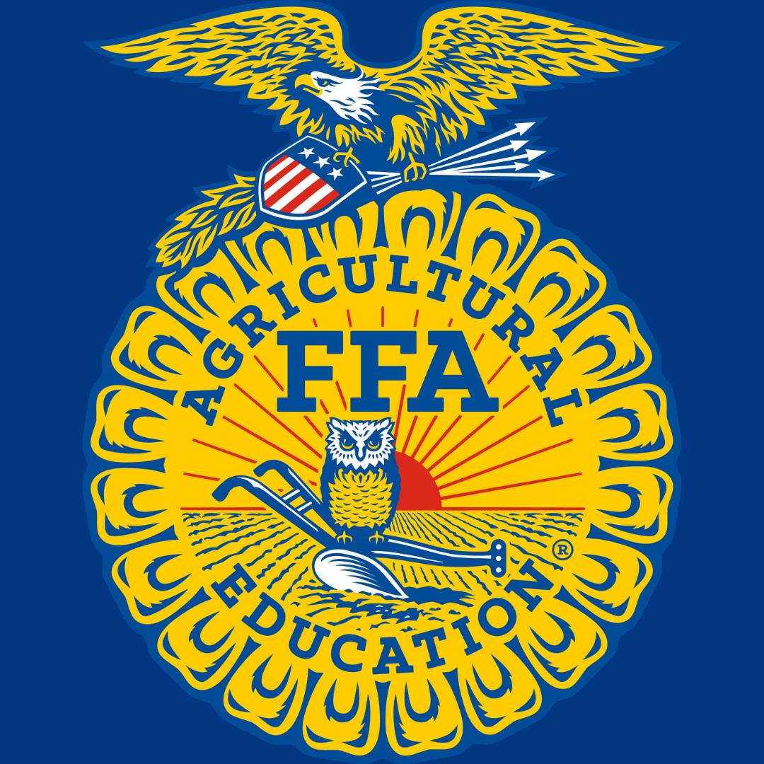 FFA logo on blue background