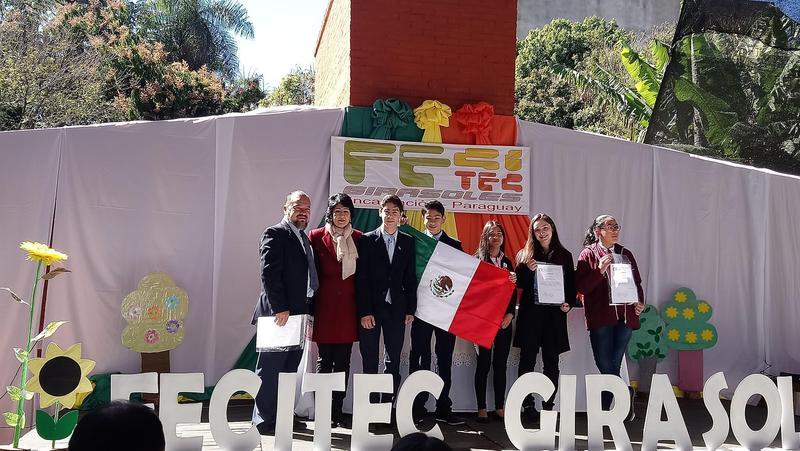 ¡1er Lugar Feria de Ciencias y Tecnología en Encarnación, Paraguay! Featured Photo