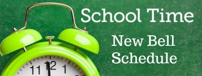 NEW BELL SCHEDULE 2019-2020 Featured Photo