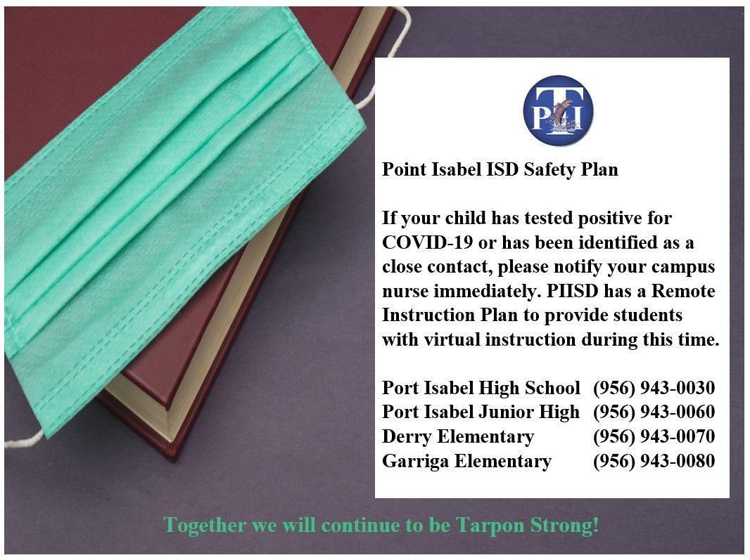PIISD Safety Plan