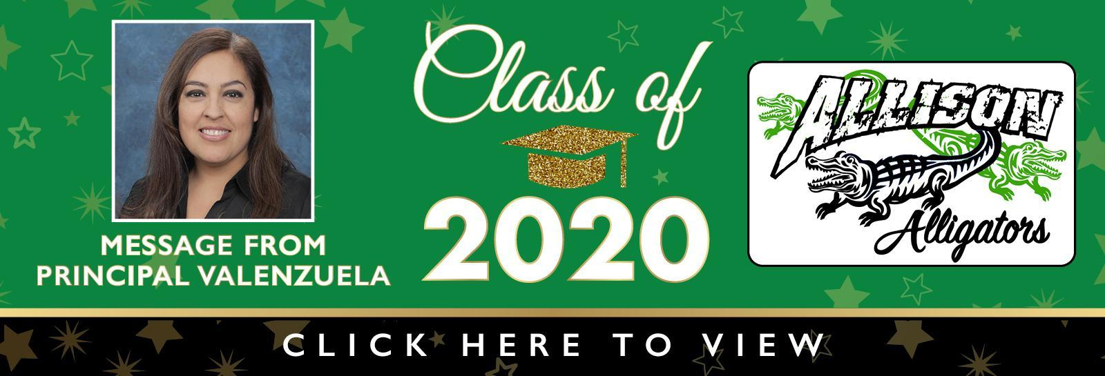 Allison Grad banner