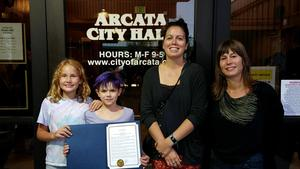 K-Kids accepting Proclamation