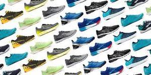 picture of lots of shoes in different colors