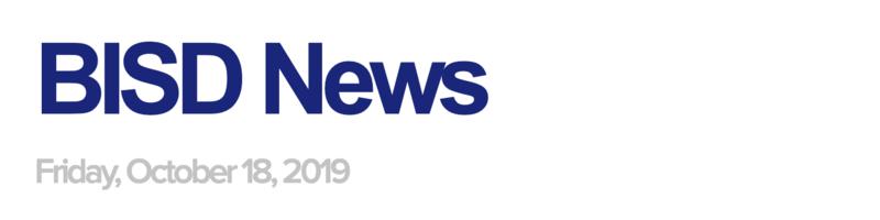 BISD News 10/18/19