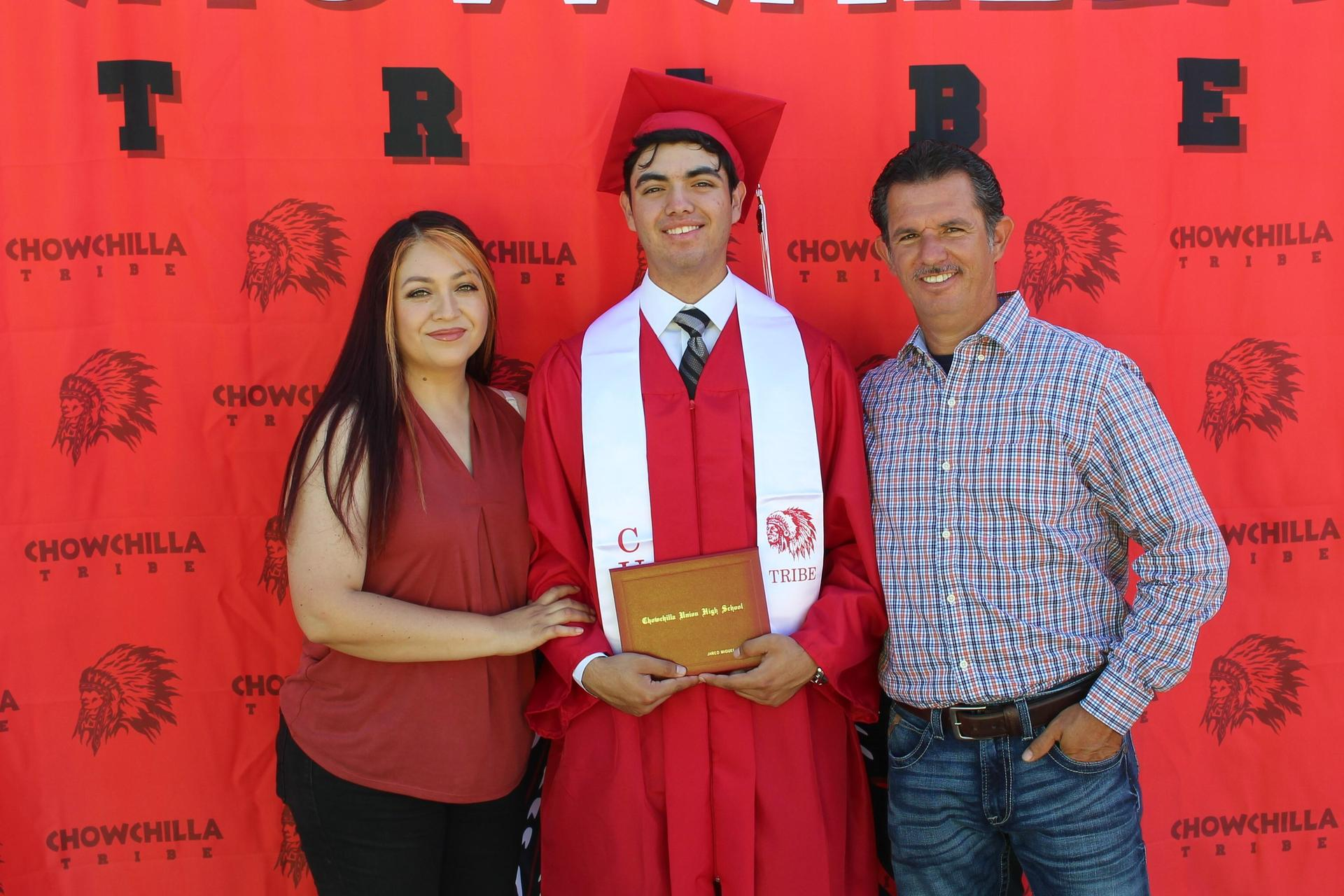 Jared Guerrero and family