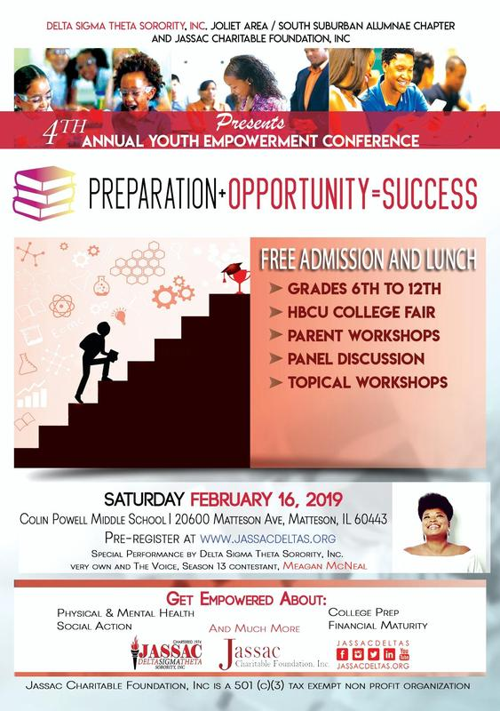 Delta Sigma Theta and JASSAC Charitable Foundation- 4th Annual Youth Empowerment Conference Featured Photo