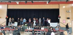 reclassification ceremony at westmont high school