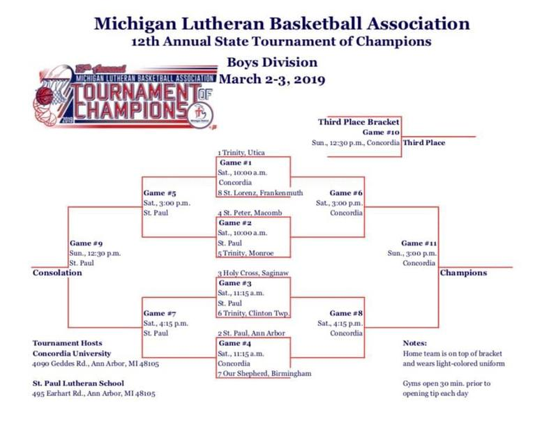 State Lutheran Basketball Tournament at SPAA, CUAA Thumbnail Image