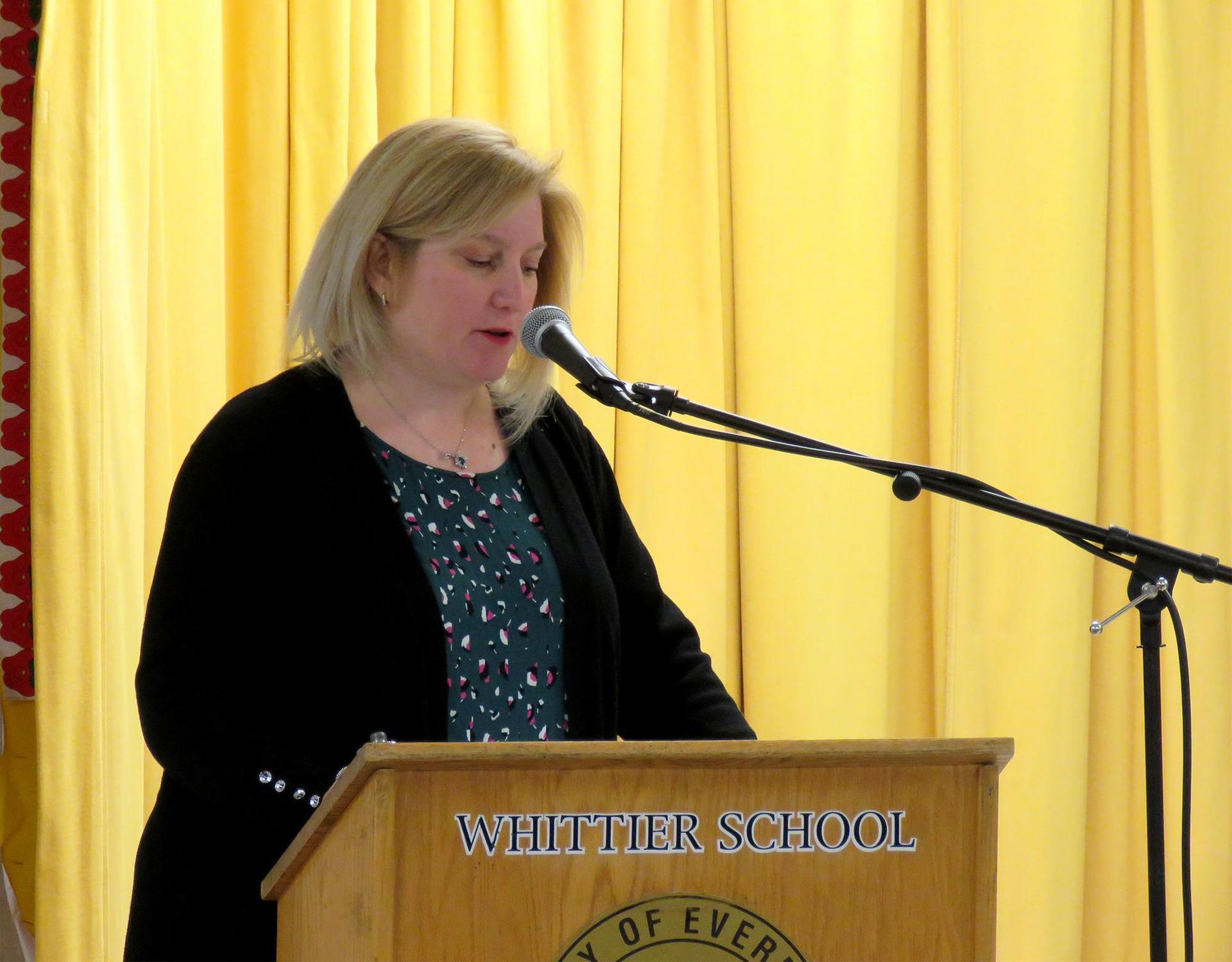 Host Lisa Norberg