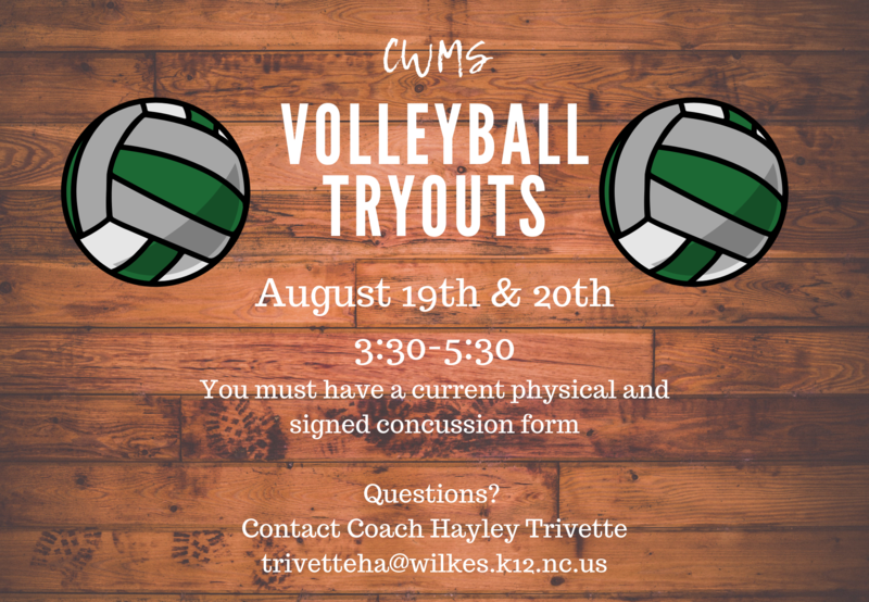 Volleyball Tryouts Thumbnail Image