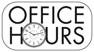 New Office Hours Featured Photo