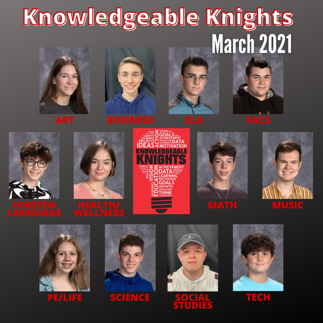 March Knowledgeable Knights