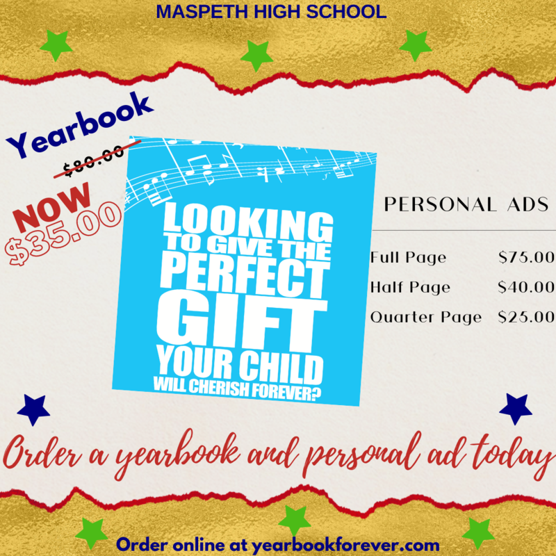 Yearbook now $35.00