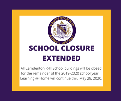 Extended Closure Announcement
