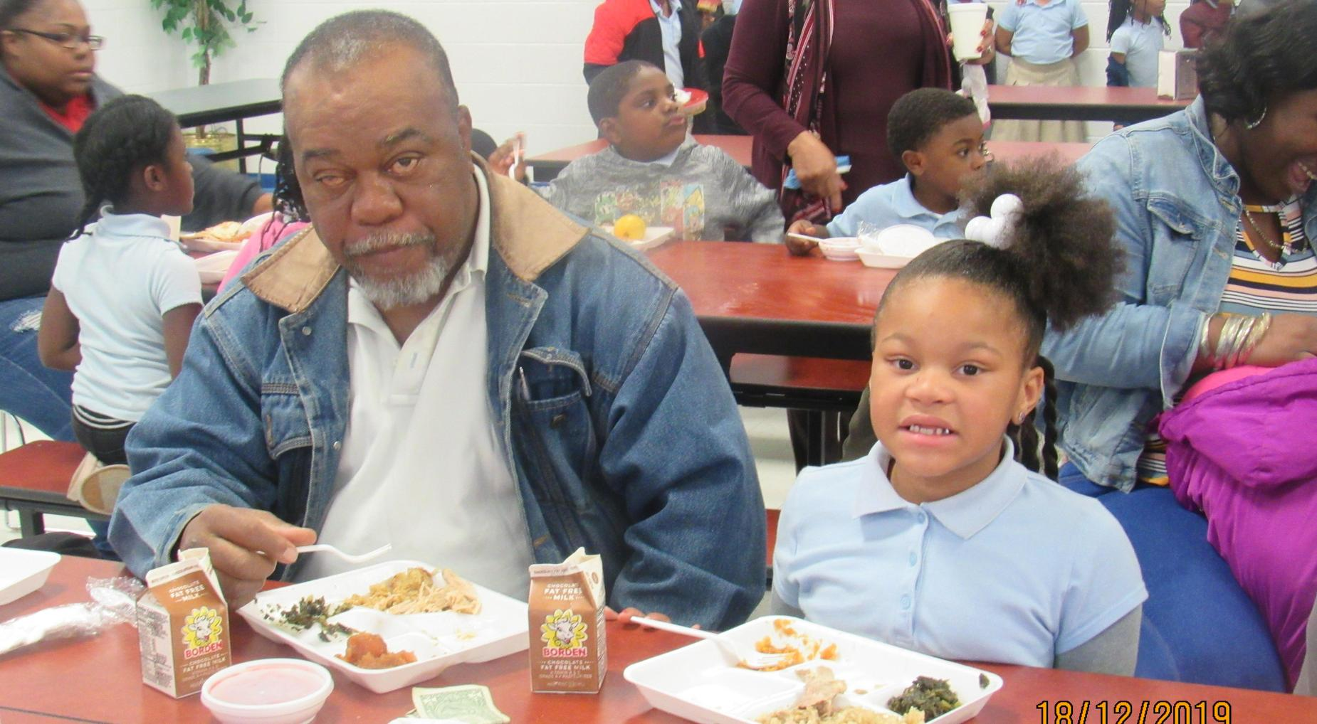 Holiday Luncheon with Community and Parents